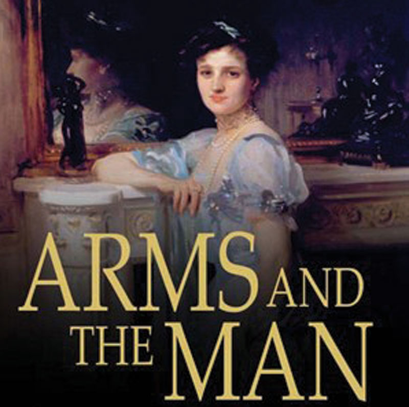 """themes in arms and the man by bernard shaw Introduction """"arms and the man"""" is a play by george bernard shaw published in 1894 it's title comes from virgil's aeneid in latin the play was first produced in 1898 it is an anti-romantic comedy and humorous play 5."""