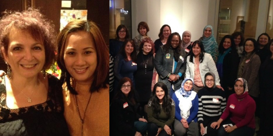 Pictured left: Founder, Nina Corder  and Co-founder, Michelle Ansara. Pictured right: group photo.