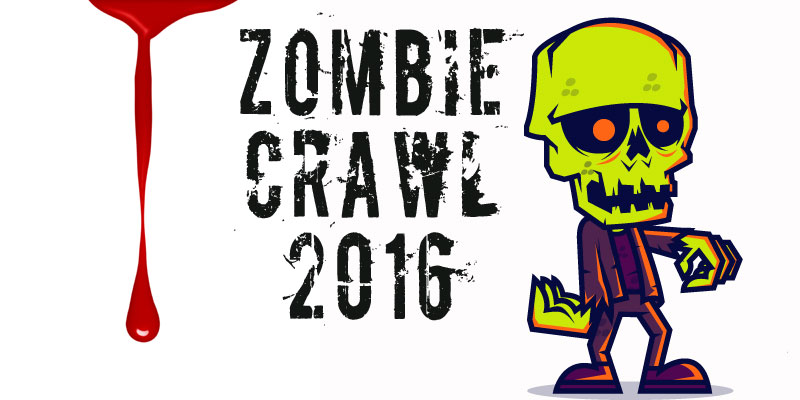Get spooky at the Zombie Crawl
