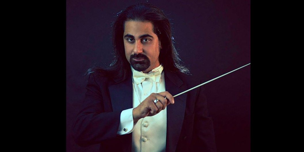Michael Ibrahim, founder and director of the National Arab Orchestra.