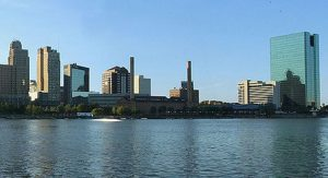 The Glass City sits on the Maumee river