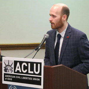 Mike Brickner, Senior Policy Director of the Ohio ACLU