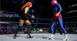 "Wrestler Becky Lynch to perform on ""SmackDown"" in Toledo"