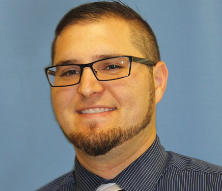 Josh Niese, lead safety supervisor for Toledo-Lucas County Health Department