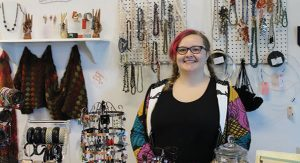 Carmen Smith, owner of Beads & Books, has participated in the Bead Shop Hop since 2014.