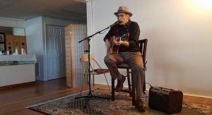 Tim Oehlers performing at the Art and Performance Center of West Toledo