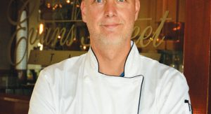Chef Kelly Johnson. Photo Credit: Jim Lincoln of The Tecumseh Herald