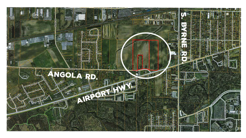 Lucas County Proposes Plan To Build New Jail On Angola Road - Angola road map