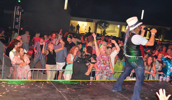 Recent Centennial Terrace concerts include the '80s Explosion Costume and Dance Party, Tesla and Rob Zombie.  The Make America Rock Again festival, featuring Scott Stapp and others, hits Centennial Terrace on Thursday, August 24.