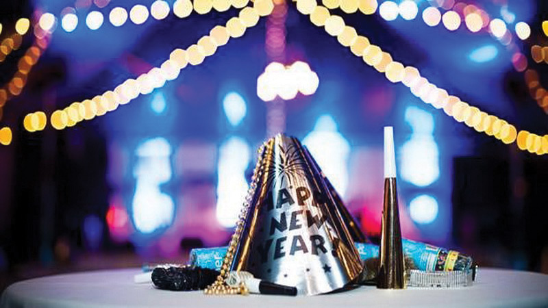 New Year Restaurant Parties