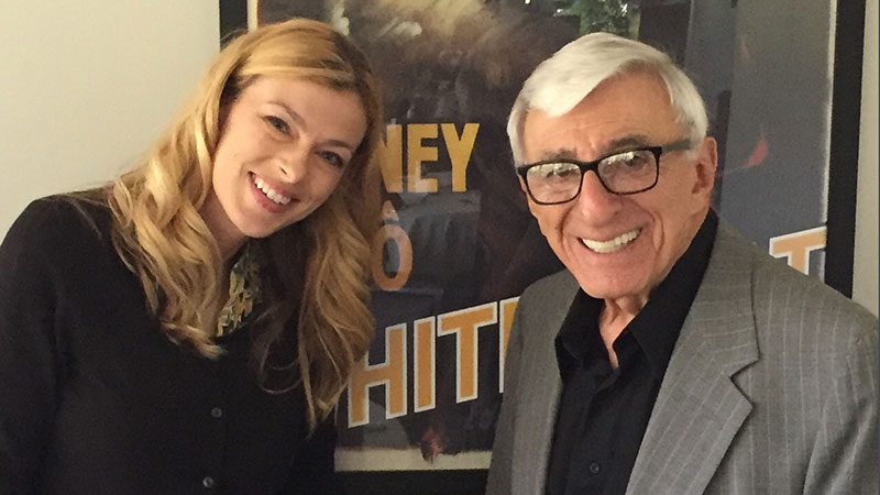 Charissa and Jamie Farr, who guest appears in the doc. Photo Credit: Charissa Gracyk