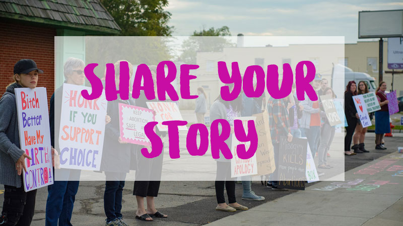 After a long fight, Toledo's last remaining abortion clinic will stay open. Help us show why this is critical for our community by sharing your story about why it is important to have access to reproductive healthcare.  (PHOTO CREDIT: CRYS JANKOWSKI)