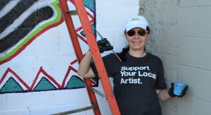 Linda Parra, Founder/President of Nuestra Gente Community Projects, Inc. and WVZC-LP 96.5 FM.