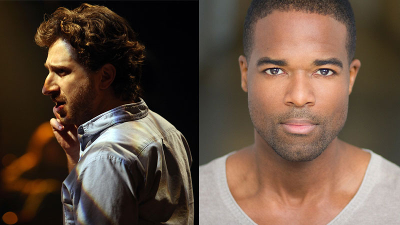 The production of 'I Dream,' led by veteran stage director Daniel Goldstein (left) and starring Derrick Davis (right) as Dr. King, will also be performed in Charlotte, NC later this year.