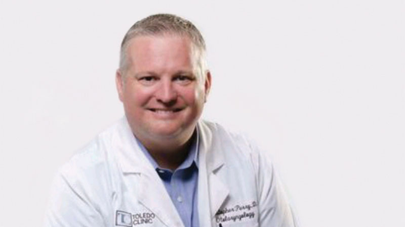 Dr. Christopher Perry, Toledo Clinic.