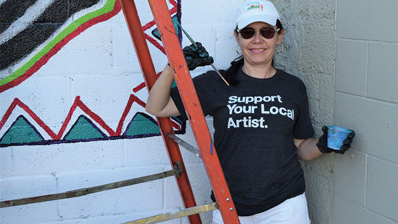 Toledo's Hispanic community represents 10 percent of Lucas County's population, but they didn't have their own Spanish-speaking language station until this year, when University of Toledo graduate Linda Parra's 96.5 FM Nuestra Gente went on air.