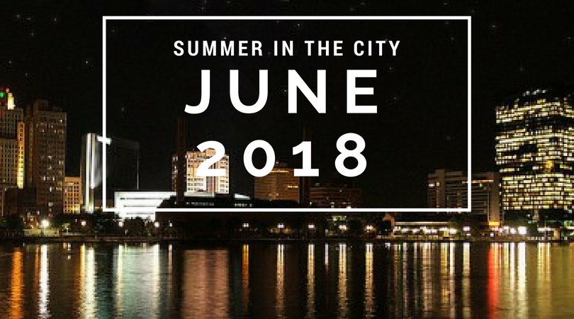 summer in the city june 2018 calendar