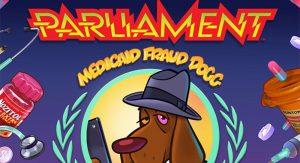 Medicaid Fraud Dogg (album cover).