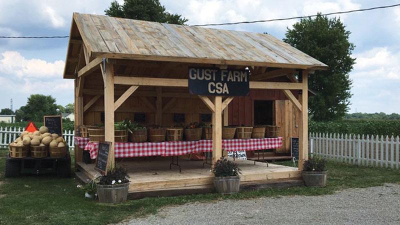 Gust Farms.