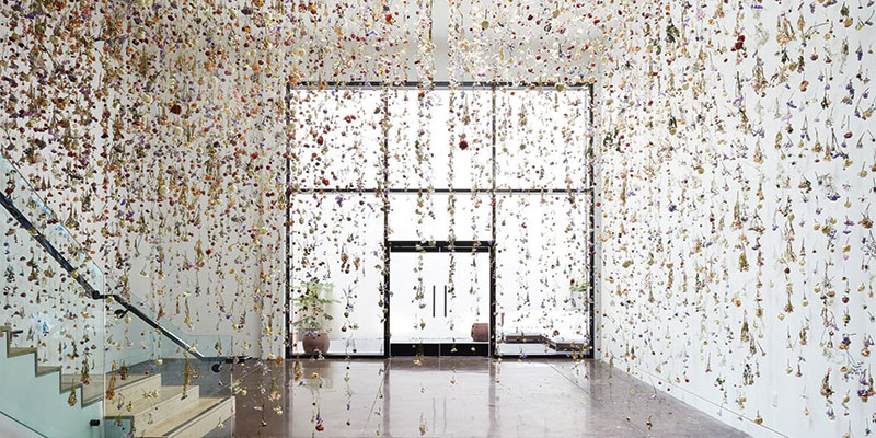 Rebecca Louise Law, The Beauty of Decay. Chandran Gallery, 2016.