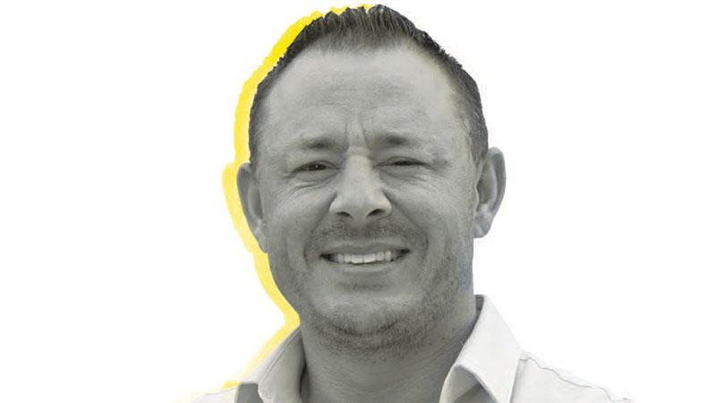 Sales/Marketing Manager Erik Cleavenger.