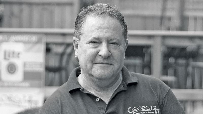 Owner George Thompson.