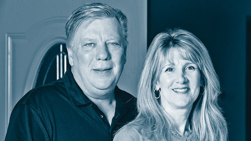 Owners Bruce and Lisa Roth.