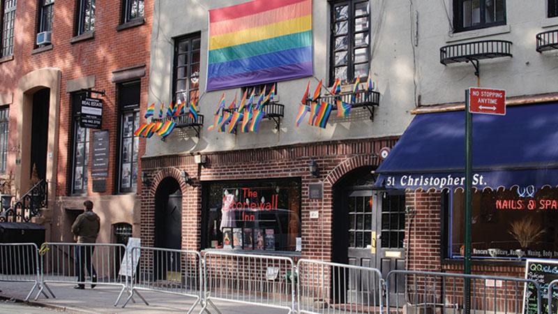 The Stonewall Inn, West Village, NYC.