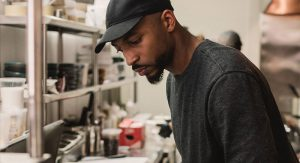 Rasa's Chef Abraham Holmes.