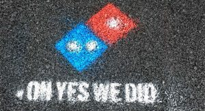 Oh, no. We didn't…. Photo Credit: Domino's