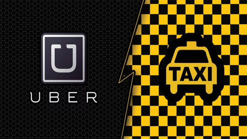 Uber and Lyft vs  Taxis