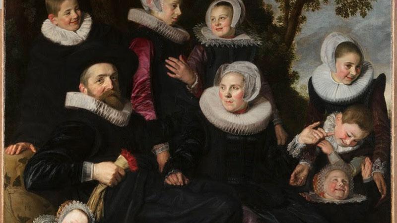 Partial image of: Frans Hals (Dutch, 1582/83–1666), The Van Campen Family in a Landscape (fragment), ca. 1623–25, Toledo Museum of Art.