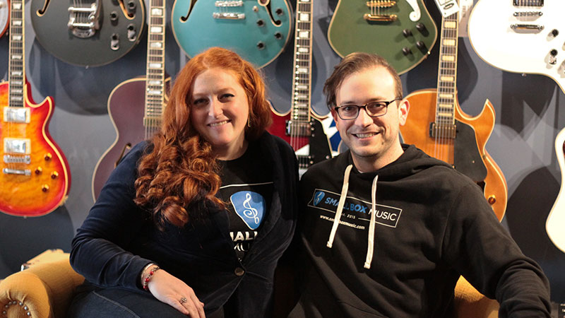 Allison and John Fowler started Small Box Music as an online instrument shop in 2015, but just opened their brick-and-mortar in downtown Maumee.