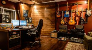 Mixing Room of MadSam Studios. Photo Credit: Jeff Harris.