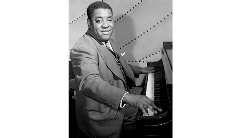 Art Tatum at the piano.