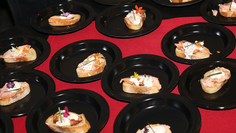 Entrees presented by Mancy's, Poco Pilati and Zia's at the 2018 Zest Toledo, held at the Renaissance Hotel. Photos courtesy: Zest Toledo.