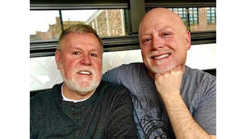 Chuck Madrigal & Finley Gleason.