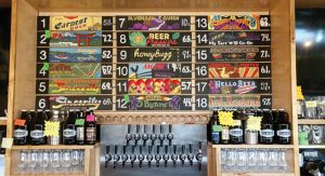 EBW's Taproom beer signs; all by Jason Sanderson except for #11, by Natalie Lanese.