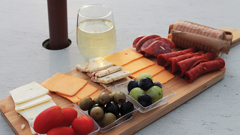 Charcuterie Board at American Winery. Photo Credit: Courtney Probert