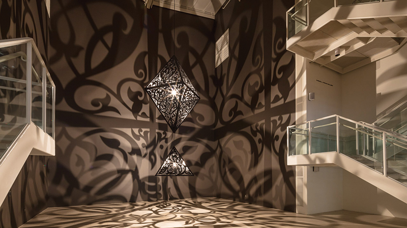 Anila Quayyum Agha: Between Light and Shadow is on view through February 9, 2020. Admission to the exhibit is free for members and children age four and younger, $12 for adults, $10 for seniors, college students and military, and $7 for youth ages 5-17.