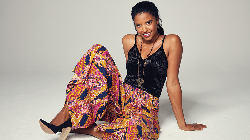"Renée Elise Goldsberry, of Hamilton fame, joins the Toledo Symphony Orchestra for ""a celebration that stirs our souls to love"" on Saturday, January 25. Photo courtesy of Renée Elise Goldsberry."