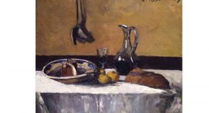 Camille Pissarro (French,1830-1903), Still Life, 1867, oil on canvas.