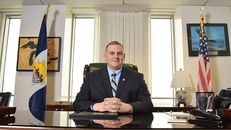 Mayor Wade Kapszukiewicz. Photo Credit: Kelli Miller