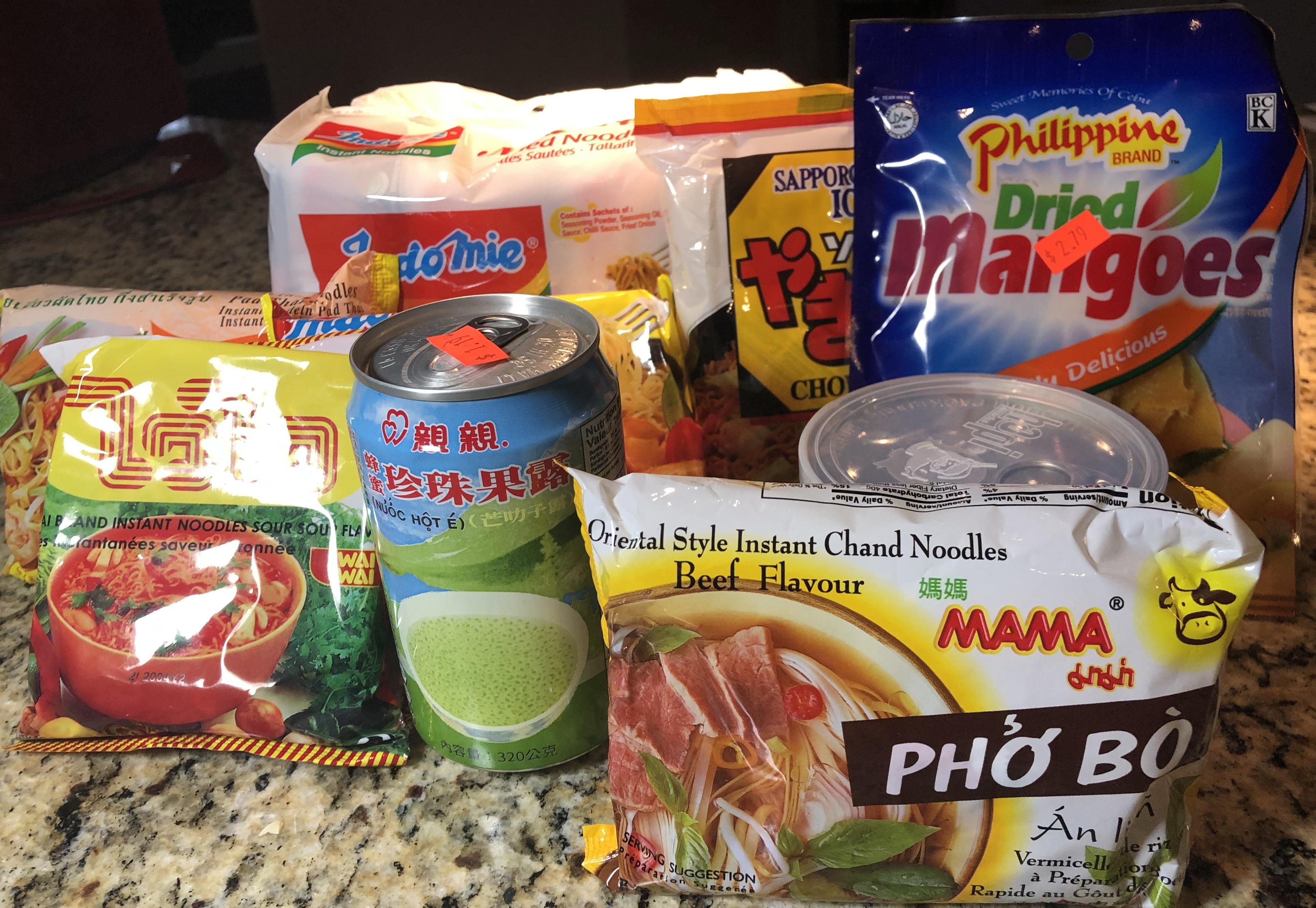 Asian Grocery Toledo Ohio Snacks