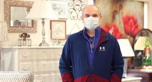 Tony Rasczyk, Consign-It Home Interiors General Manager. Photo Credit: Joni Johnson.