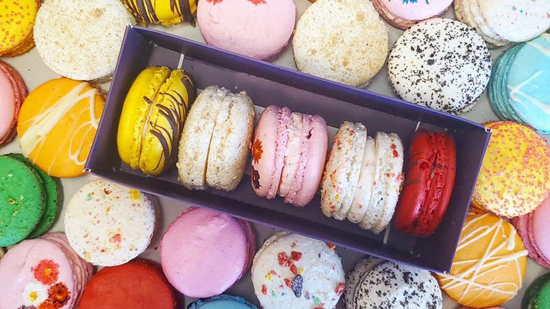 Macarons from So Sweet Lebanese & French Pastries.
