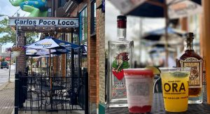 Carlos' Poco Loco's patio is open. Grab a Strawberry Daiquiri with Heart of Glass, and their Signature Top Shelf Margarita with Orange Tiger.