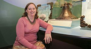 Carrie Sowden, Archaeological Director of the National Museum of the Great Lakes. Photo courtesy of Imagination Station Toledo‎.