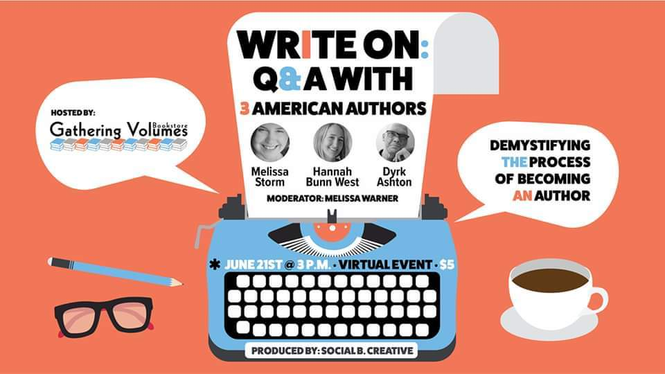 Book Feature- Write On- A Q&A with 3 American Authors