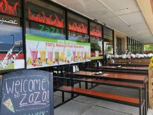 PATIO GUDIE - ZaZa Wood-Fired Pizza & Mediterranean Pizza